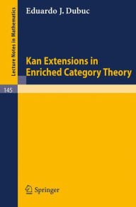 Kan Extensions in Enriched Category Theory - Eduardo J. Dubuc