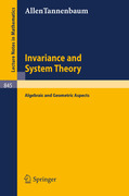 Tannenbaum, Allen: Invariance and System Theory