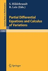 Partial Differential Equations and Calculus of Variations - Hildebrandt, Stefan / Leis, Rolf