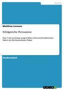 Lenssen, Matthias: Erfolgreiche Persuasion