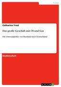 Catharina Trost: Das große Geschäft mit Öl und Gas