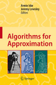 Algorithms for Approximation - Armin Iske; Jeremy Levesley