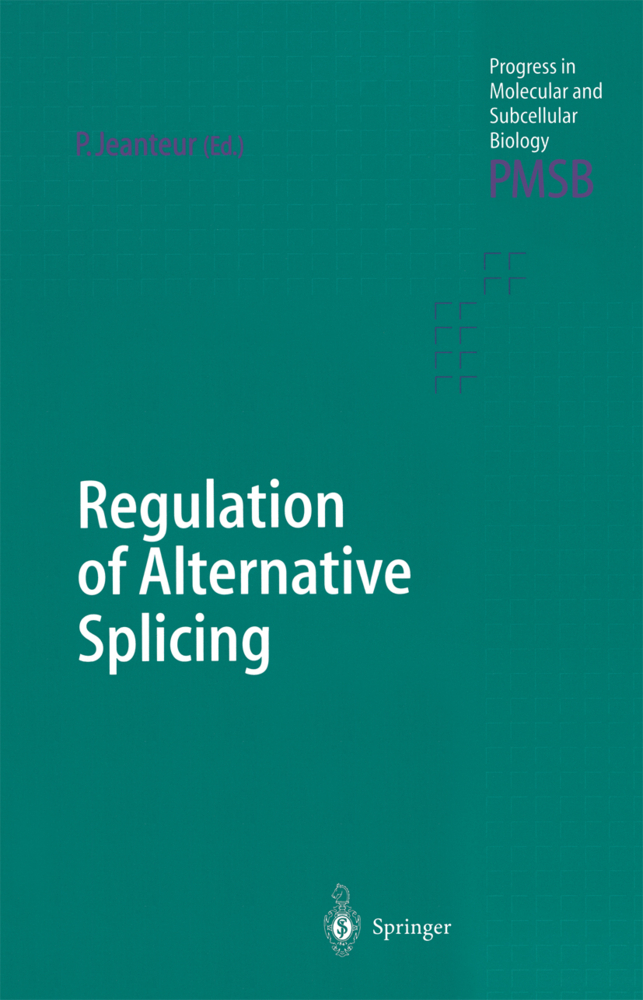 Regulation of Alternative Splicing als Buch von - Springer