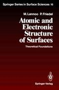 Atomic and Electronic Structure of Surfaces
