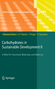 Carbohydrates in Sustainable Development II - Amélia P. Rauter; Pierre Vogel; Yves Queneau