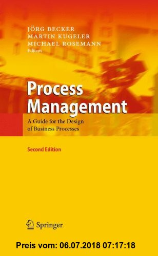 Gebr. - Process Management: A Guide for the Design of Business Processes