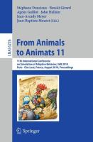 From Animals to Animats 11