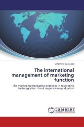 The international management of marketing function - Valentina Costanza