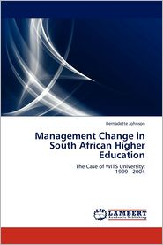 Management Change in South African Higher Education - Johnson Bernadette