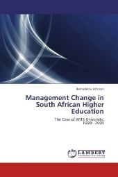 Management Change in South African Higher Education - Bernadette Johnson