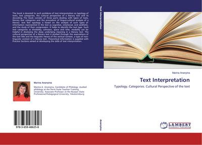 Text Interpretation - Marina Ananyina