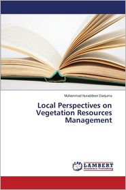 Local Perspectives on Vegetation Resources Management