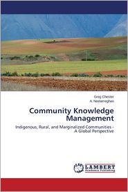 Community Knowledge Management - Chester Greg, Neelameghan a.