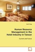 Human Resource Management in the Hotel Industry in Taiwan