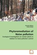 Phytoremediation of Noise pollution