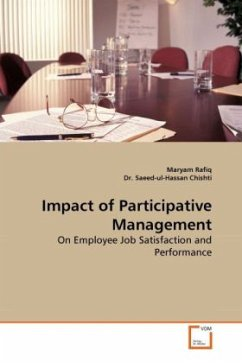 Impact of Participative Management - Rafiq, Maryam Saeed-ul-Hassan, Chishti