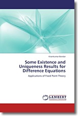 Some Existence and Uniqueness Results for Difference Equations