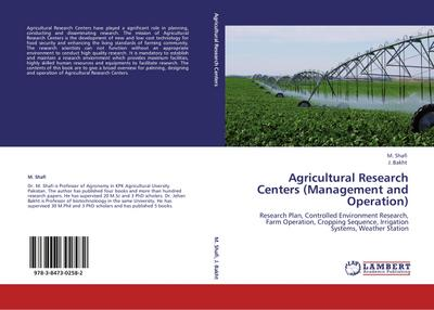 Agricultural Research Centers (Management and Operation) - M. Shafi