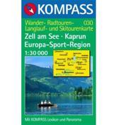030: Zell Am See - Kaprun Europa Sportregion 1:30, 000