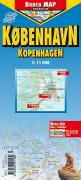 Kopenhagen 1 : 11 000. City Center Map
