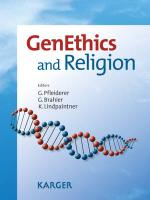 GenEthics and Religion