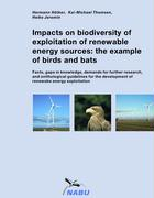 Impacts on biodiversity of exploitation of renewable energy sources: the example of birds and bats