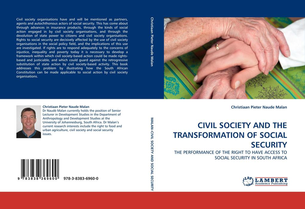 CIVIL SOCIETY AND THE TRANSFORMATION OF SOCIAL SECURITY als Buch von Christiaan Pieter Naude Malan - LAP Lambert Acad. Publ.