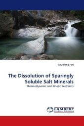 The Dissolution of Sparingly Soluble Salt Minerals - Chunfang Fan
