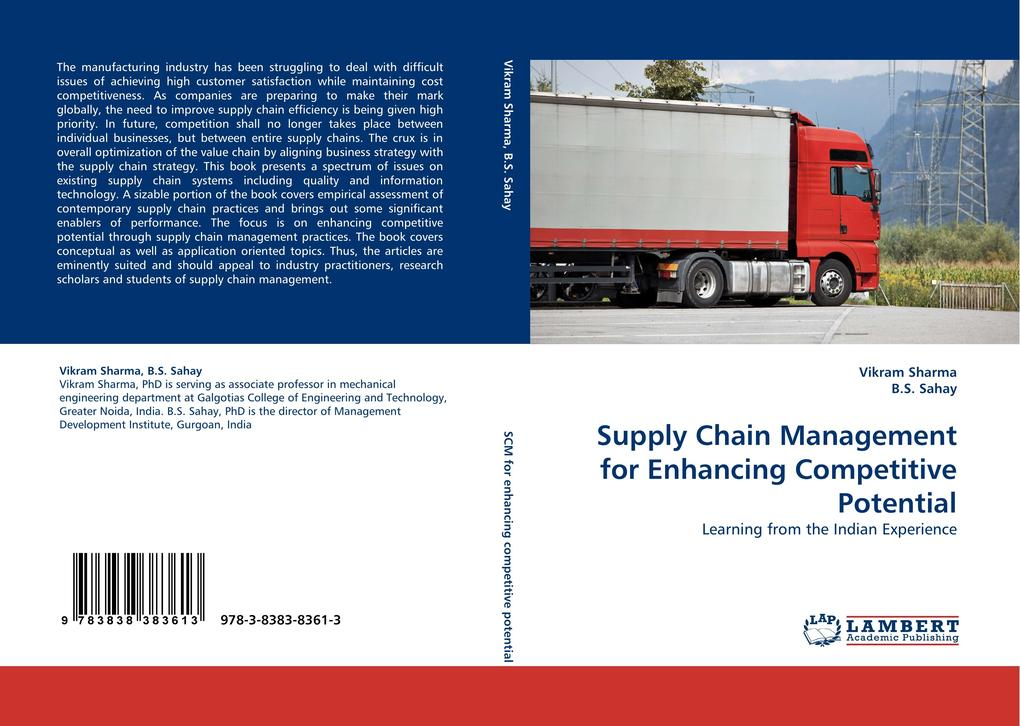Supply Chain Management for Enhancing Competitive Potential als Buch von Vikram Sharma, B. S. Sahay - LAP Lambert Acad. Publ.