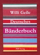 Deutsches Bänderbuch - Willi Geile
