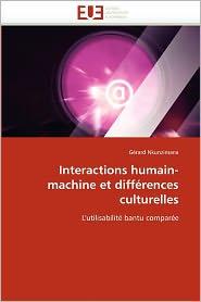 Interactions Humain-Machine Et Diff Rences Culturelles