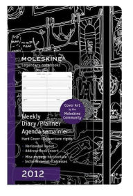 2012 Cover Art Planners Mathias Adolfson Pocket Weekly Horizontal - Moleskine