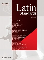 Latin Standards : for piano (vocal/guitar)