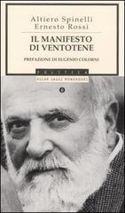 Il manifesto di Ventotene - Spinelli Altiero