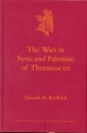 The Wars in Syria and Palestine of Thutmose III - Donald Bruce Redford