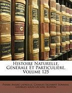 Histoire Naturelle, Gnrale Et Particulire, Volume 125