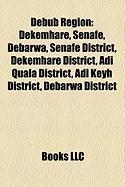 Debub Region: Dekemhare, Senafe, Debarwa, Senafe District, Dekemhare District, Adi Quala District, Adi Keyh District, Debarwa Distri