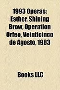 1993 Operas: Esther