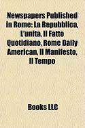 Newspapers Published in Rome: La Repubblica