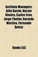 Instituto Managers: Alfio Basile, Hector Rivoira, Carlos Fren, Jorge Theiler, Gerardo Martino, Fernando Quiroz