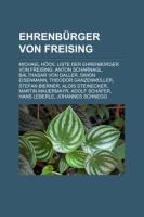 Ehrenbürger Von Freising