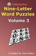 Chihuahua Nine-Letter Word Puzzles Volume 3 Alan Walker Author
