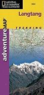 Trails Illustrated - Adventure Map-Langtang, Nepal - Adventure Map