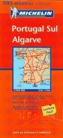 Mapa Regional Portugal Sul Algarve (Michelin Regional Maps, Band 593)