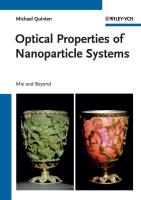 Optical Properties of Nanoparticle Systems: Mie and Beyond
