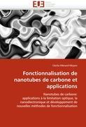 Fonctionnalisation de nanotubes de carbone et applications