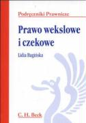 Prawo wekslowe i czekowe - Baginska, Lidia