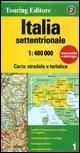 Italia settentrionale 1:400.000 (Touring Club Italiano Road Maps)