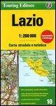 Lazio 1:200.000 (Regional Road Map)