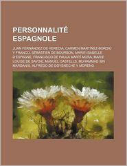Personnalit Espagnole - Livres Groupe (Editor)